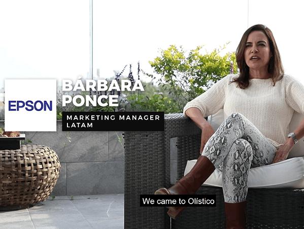Testimonial – EPSON Marketing Manager LATAM