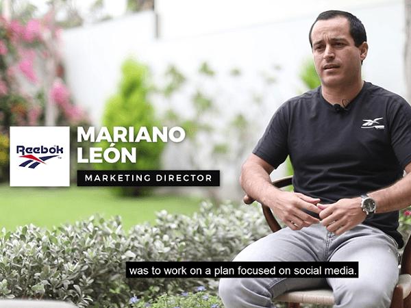 Testimonial – REEBOK Marketing Director